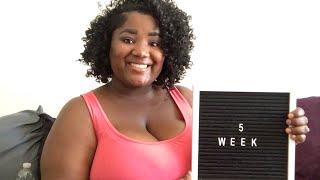 5 WEEK UPDATE   PCOS PREGNANCY   BABY # 2