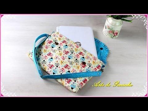 78f860451513d Bolsa Transversal ou Capa Notebook - YouTube