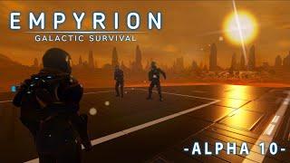 Empyrion Galactic Survival #стрим 5 - выживание и прохождение - сервер #HWS - Старт с планеты