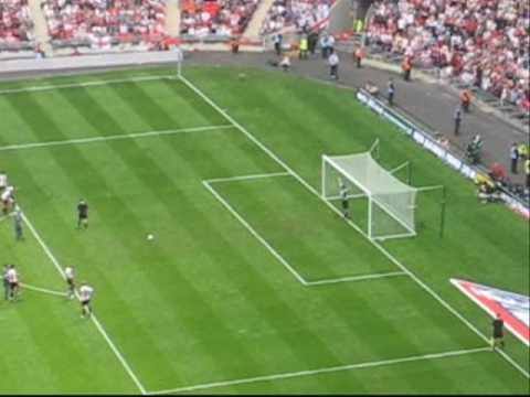 Exeter City Wembley Dream - so near.....