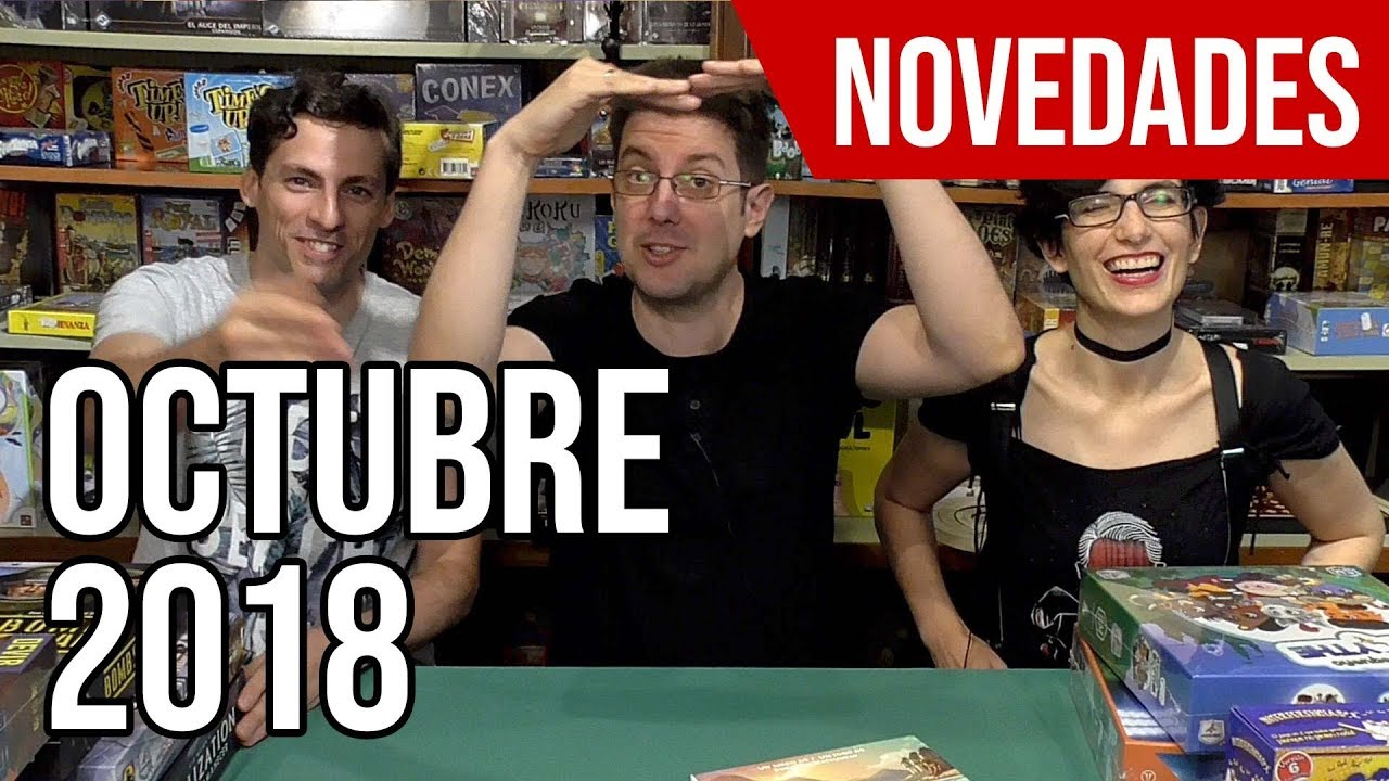 Novedades De Juegos De Mesa Octubre 2018 Youtube
