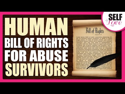 Human Bill of Rights for Abuse Survivors