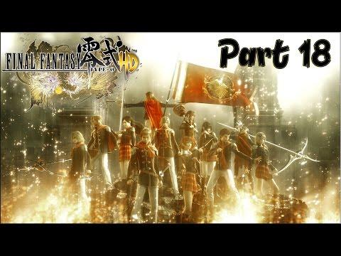 Final Fantasy Type-0 HD Part 18 [Mission 5] - Strait of Judecca