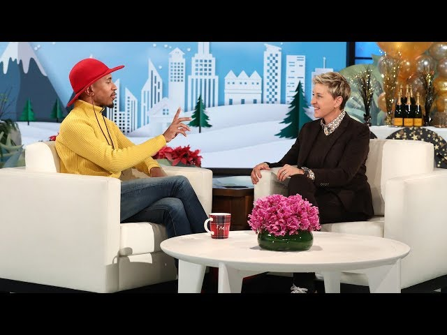 Ellen Cooks Up a Huge Surprise for Food Critic Kalen Allen!