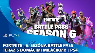 Fortnite | 6th season Battle Pass-now with pets! | Ps4
