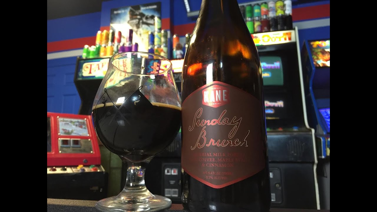 beer review 282 kane brewing company sunday brunch 9 2 abv