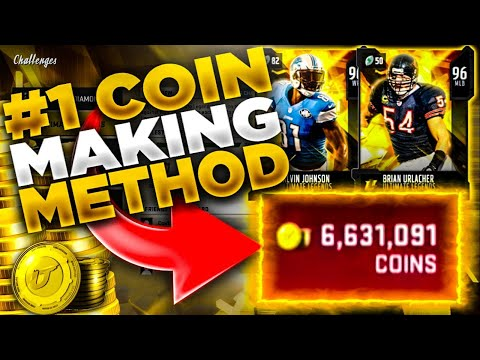 #1 COIN MAKING METHOD IN MADDEN 20!!   MAKE 100K IN 10 MINUTES!!   BEST METHOD TO MAKE COINS!
