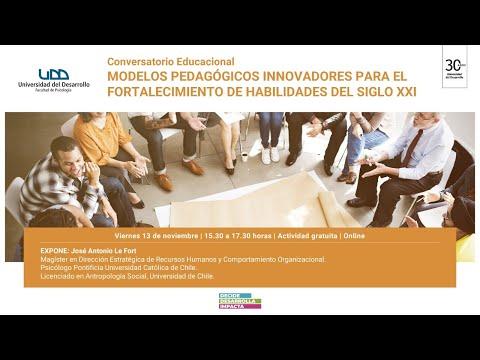 Conversatorio: Modelos Pedagógicos Innovadores para el fortalecimiento de habilidades del siglo XXI