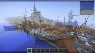 Battleship Minecraft a Tf2 rocket jump
