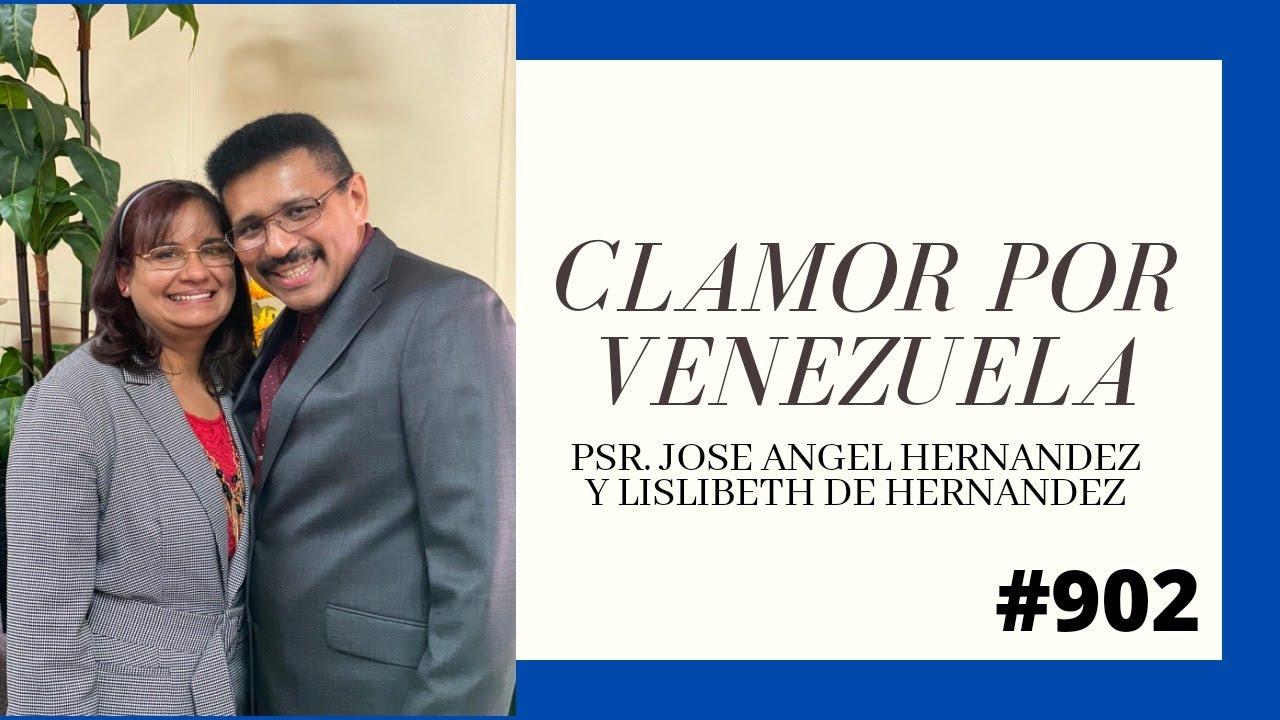 11-26-2020 Matutino de clamor por Venezuela, una nación que está de parto y por Elkhart.