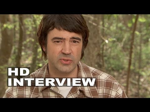 """The Conjuring: Ron Livingston """"Roger Perron"""" On Set Interview"""