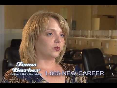 Texas Barber Colleges & Hairstyling School - YouTube