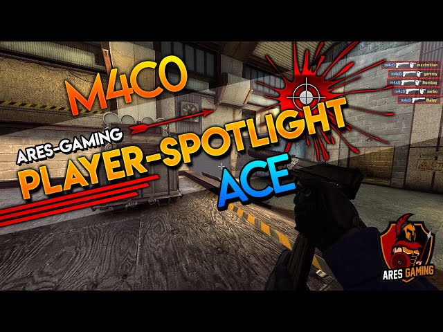 Player-Spotlight: m4cO PISTOL ACE on de_cache CS:GO by Ares Gaming