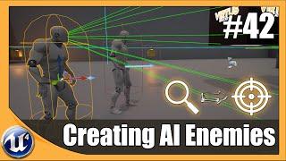 AI Ve Düşman Temel Oluşturma - #42 Unreal Engine 4 Acemi Eğitimi Serisi