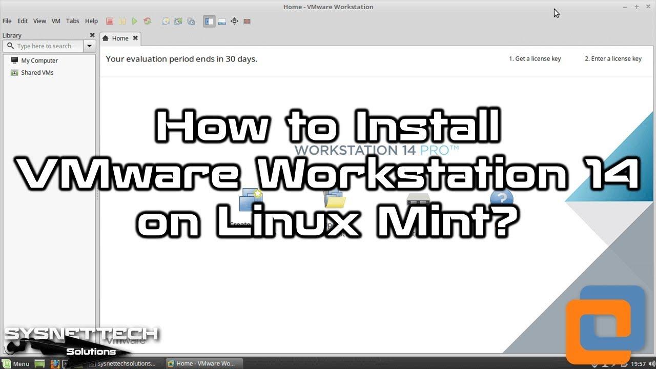 vmware workstation download linux