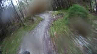 Coed Y Brenin MBR - Slated Section - 22-01-2016 | Rob Mogs