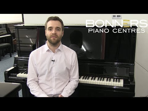 Yamaha Upright Pianos; Overview of the model range 2018