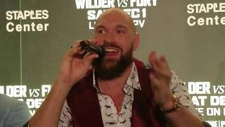 Tyson Fury describes how he will knock out Deontay Wilder, motivation for boxing