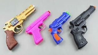 Toy Gun Toys - Baby Toy Guns Collection - Toy Gun Shoot Testing for Kids