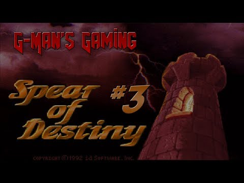 G-Man's Gaming - Wolfenstein 3D: Spear of Destiny Part 3 - Funky Secret Level |