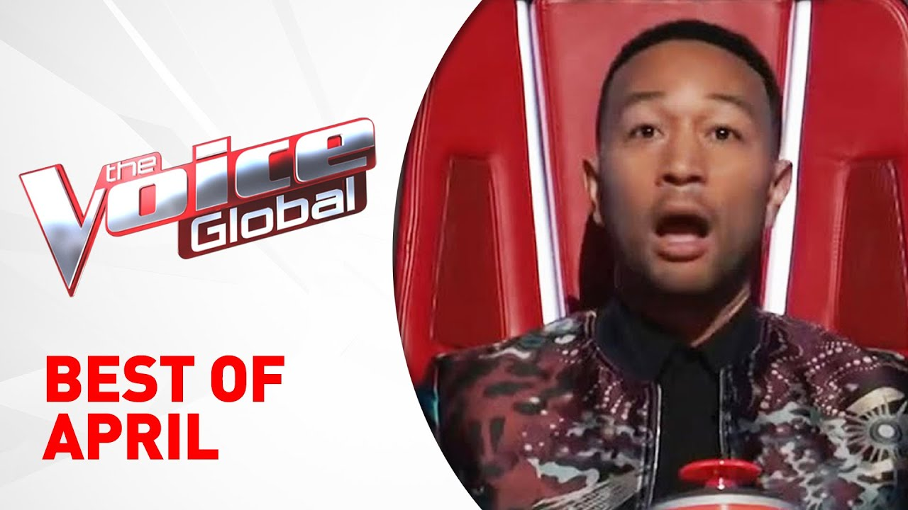 BEST OF APRIL 2021 in The Voice