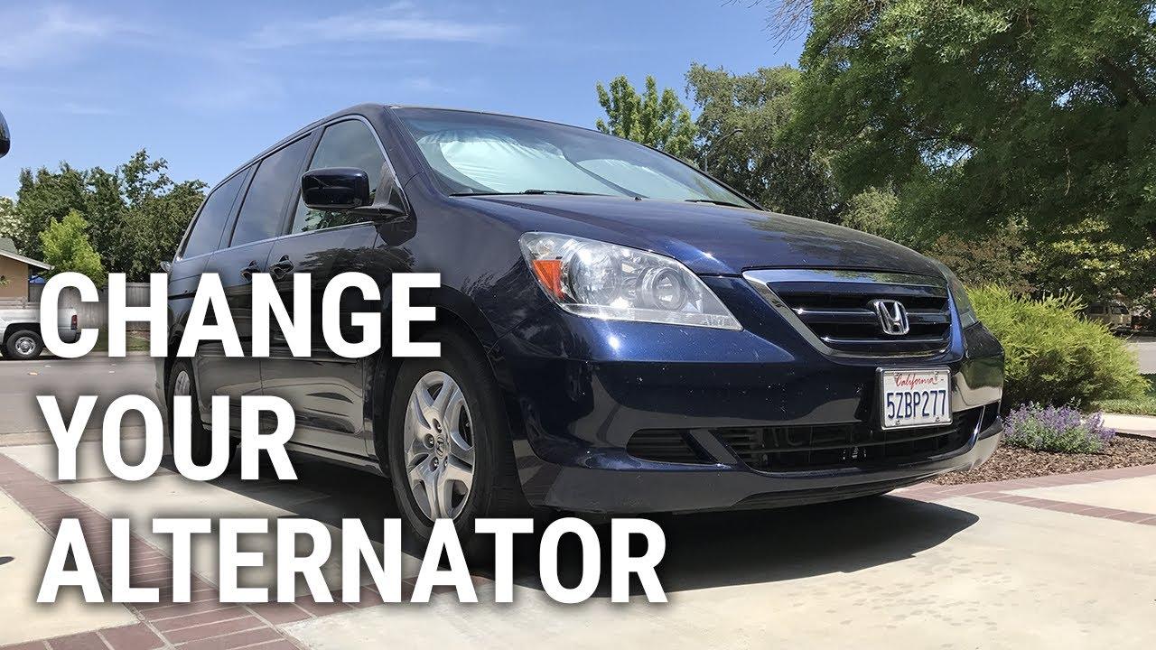 2007 Honda Odyssey Alternator Replacement
