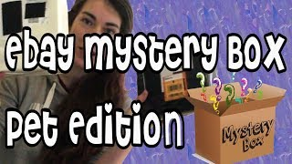 Ebay Mystery Box Unboxing | Pet Edition... Sort Of! & Giveaway!