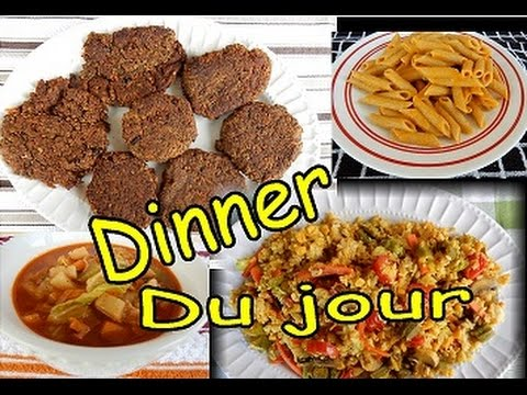 Daniel Fast Dinner Recipes Video 4