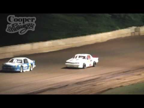 June 18, 2016 Moulton Speedway Mini Stock Feature