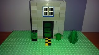 Как построить  Lego дом (Многоэтажный)