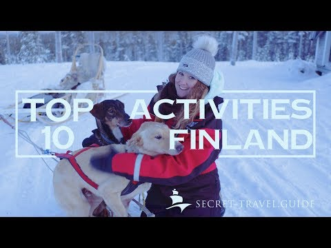 Lapland Travel VLOG 2018 - Top 10 Things to do in Lapland Finland