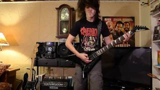 Guitar Cover of Kreator's 'Replicas of Life' by Lorenzo Z