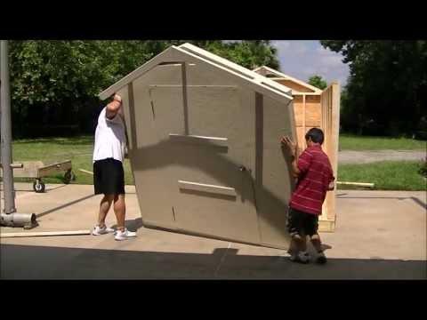 Stucco Storage Sheds Of Florida-affordable Custom Sheds-Prefab Walls-Lifetime Stucco