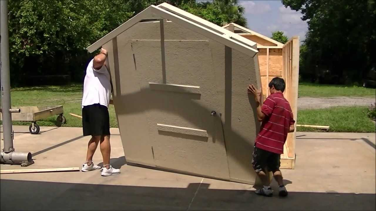 Beau Stucco Storage Sheds Of Florida Affordable Custom Sheds Prefab  Walls Lifetime Stucco   YouTube