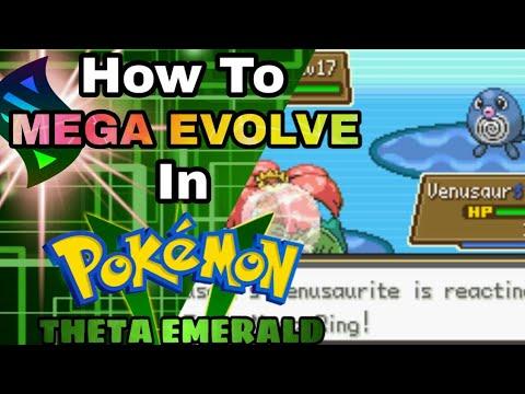 How to mega evolve in Pokemon theta emerald- Tom-301