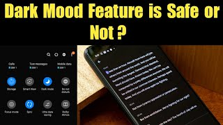 Dark Mood Is Good or Bad for Your Eyes? Light Mode vs Dark Mode Battery Consumptions