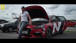 Тест-драйв нового Hyundai I30N на гоночной трассе
