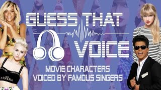 guess that singer s voice challenge animated films edition