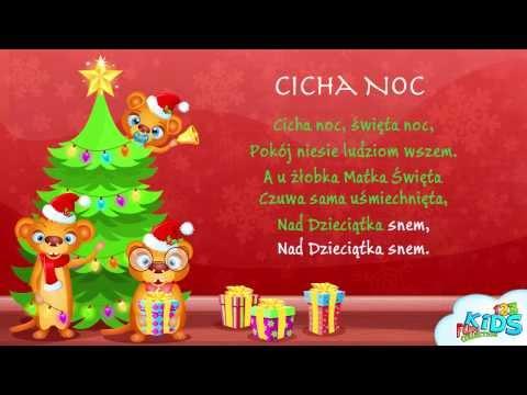 Cicha noc - Polskie Kolędy + tekst (karaoke)