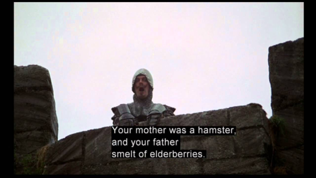 Download clip8 The French Taunting -Monty Python and the Holy Grail (1975)