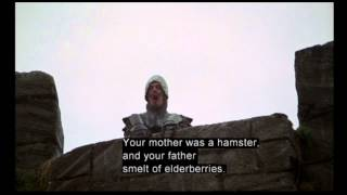 clip8 the french taunting monty python and the holy grail 1975