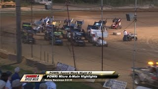 Quincy Raceway POWRi Speedway Motors Micros Feature Highlights