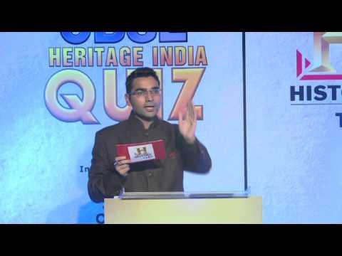 CBSE Heritage India Quiz 2015 National Final on HistoryTV18