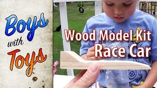 Wood Model Kit - RaceCar - Boys with Toys 62