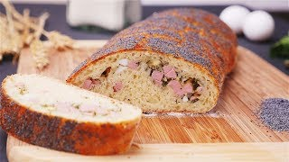 Итальянский хлеб с начинкой - Рецепты от Со Вкусом