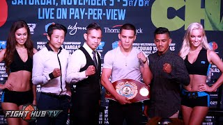 Nonito Donaire vs. Jessie Magdelano Full Press Conference & Face Off Video