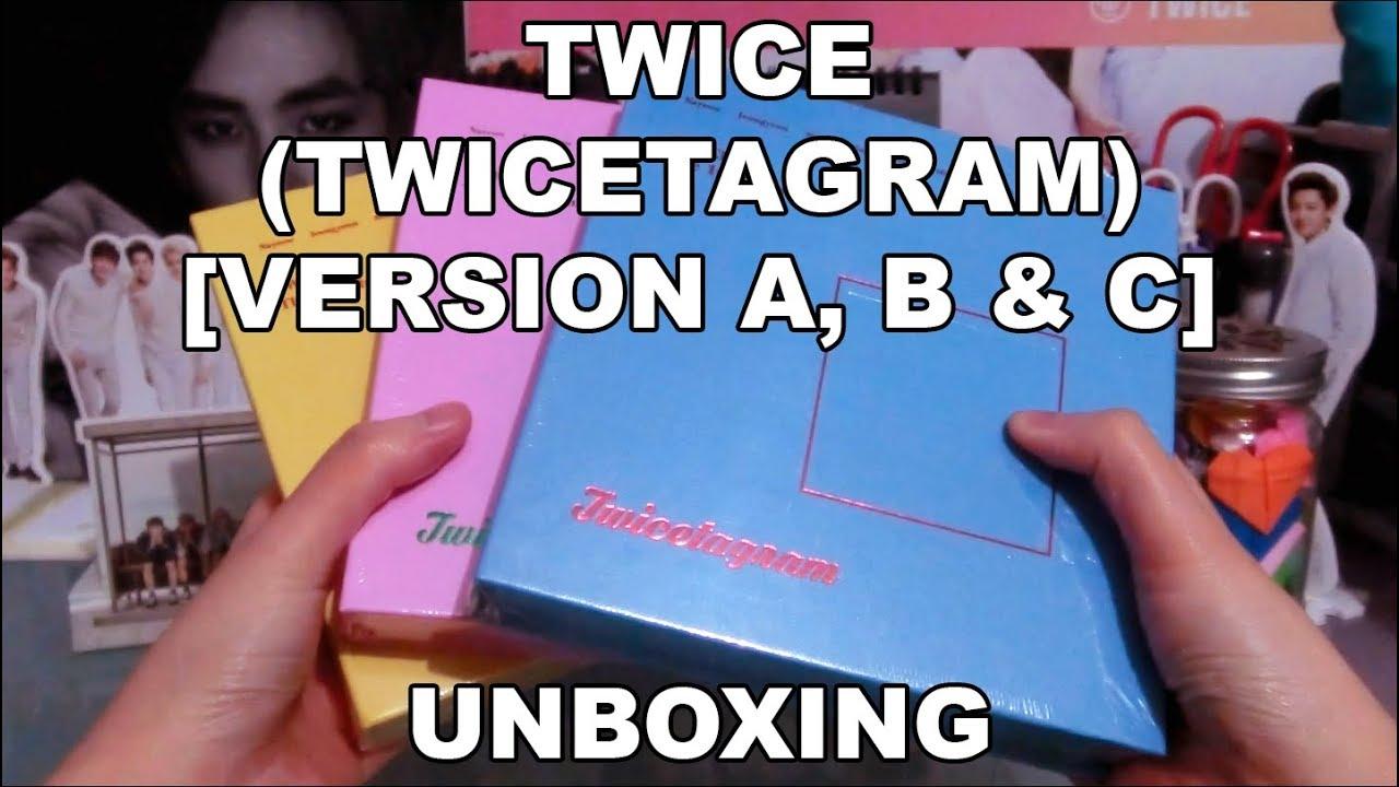 UNBOXING | TWICE - Twicetagram (Version A, B & C)