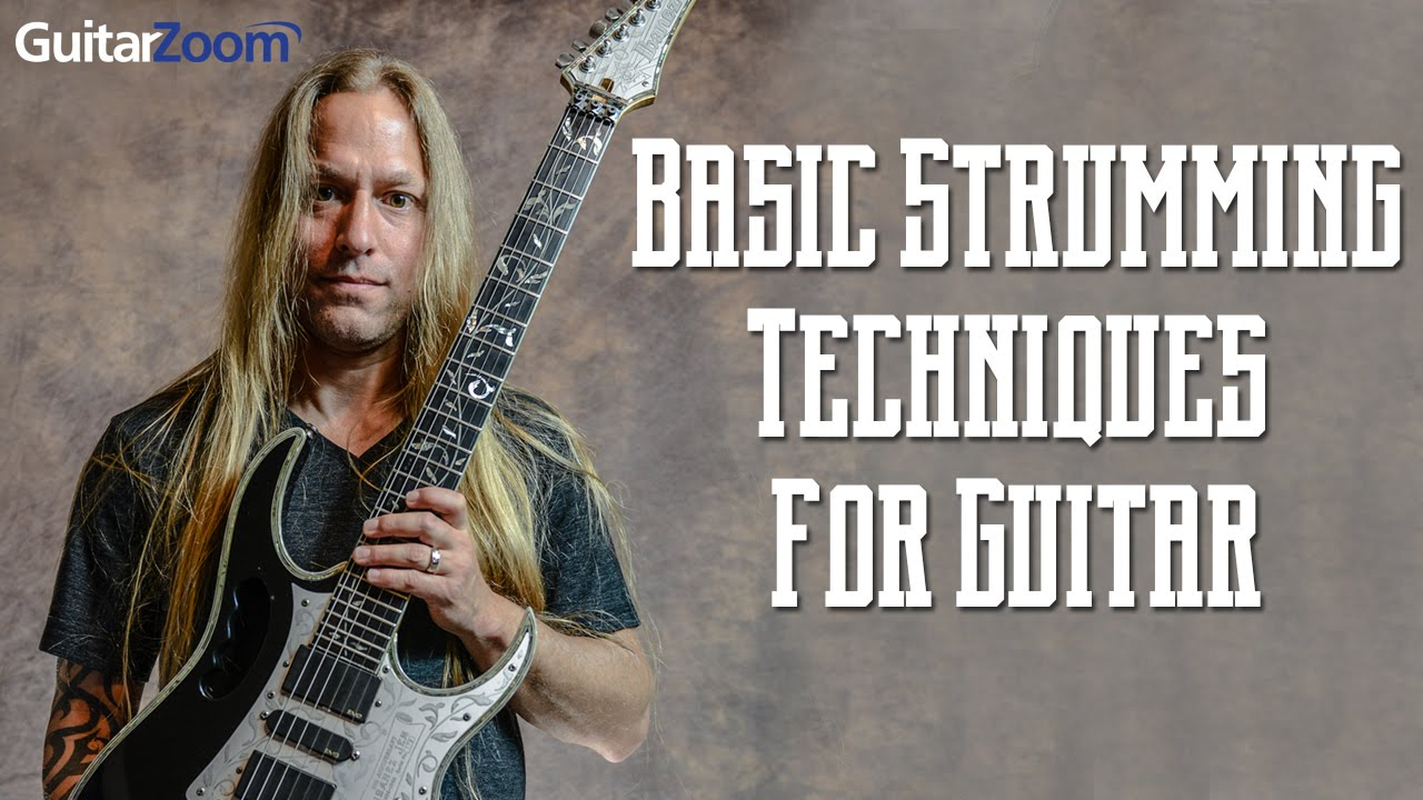basic strumming techniques for guitar steve stine youtube. Black Bedroom Furniture Sets. Home Design Ideas