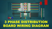 Main Distribution Boards Panel Board Wiring Diagram 3 Phase Wiring Mdb Youtube