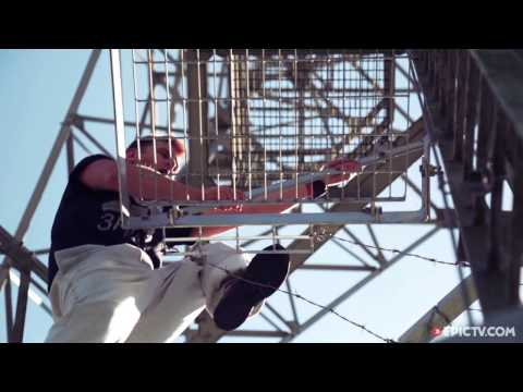 Scott Young Does A Handstand On Top Of A Windy Radio Tower | Handstanding in High Places, Ep. 1